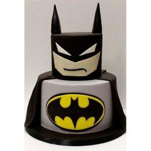 торт в стиле бэтмен 024