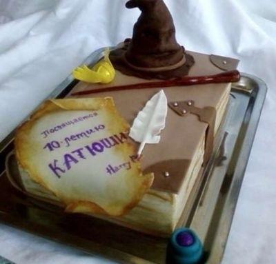 торт в стиле гарри поттер 024