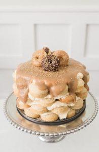 торт из пончиков 020
