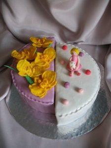 торт мама и дочка 021