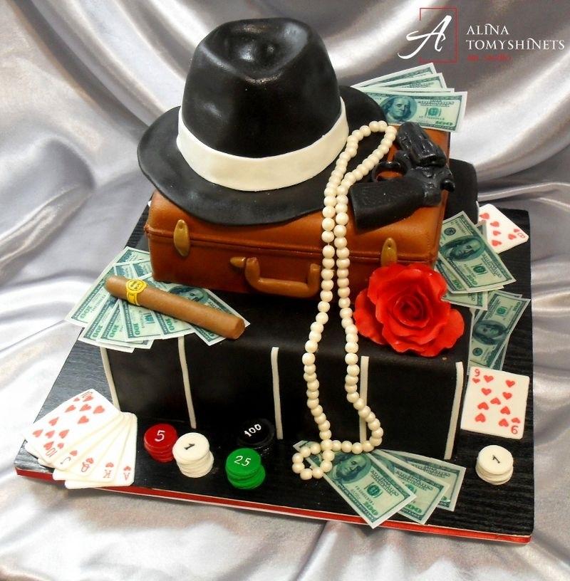 очень доброжелателен фото тортов для гангстерской вечеринки расположить