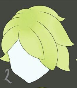 туториал по рисованию волос 023