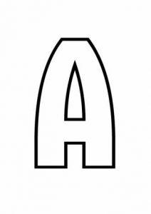 українські літери розмальовки 024