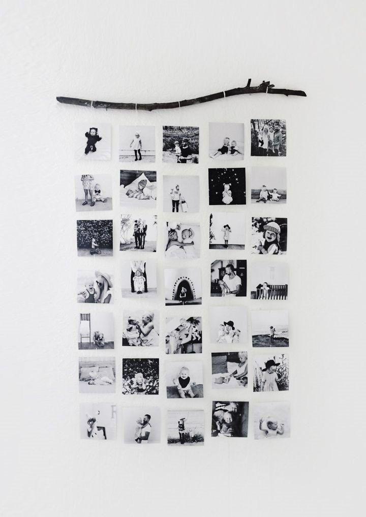 фотоколлаж на веревке 007
