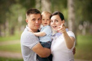 фотосессия мама папа и малыш 022