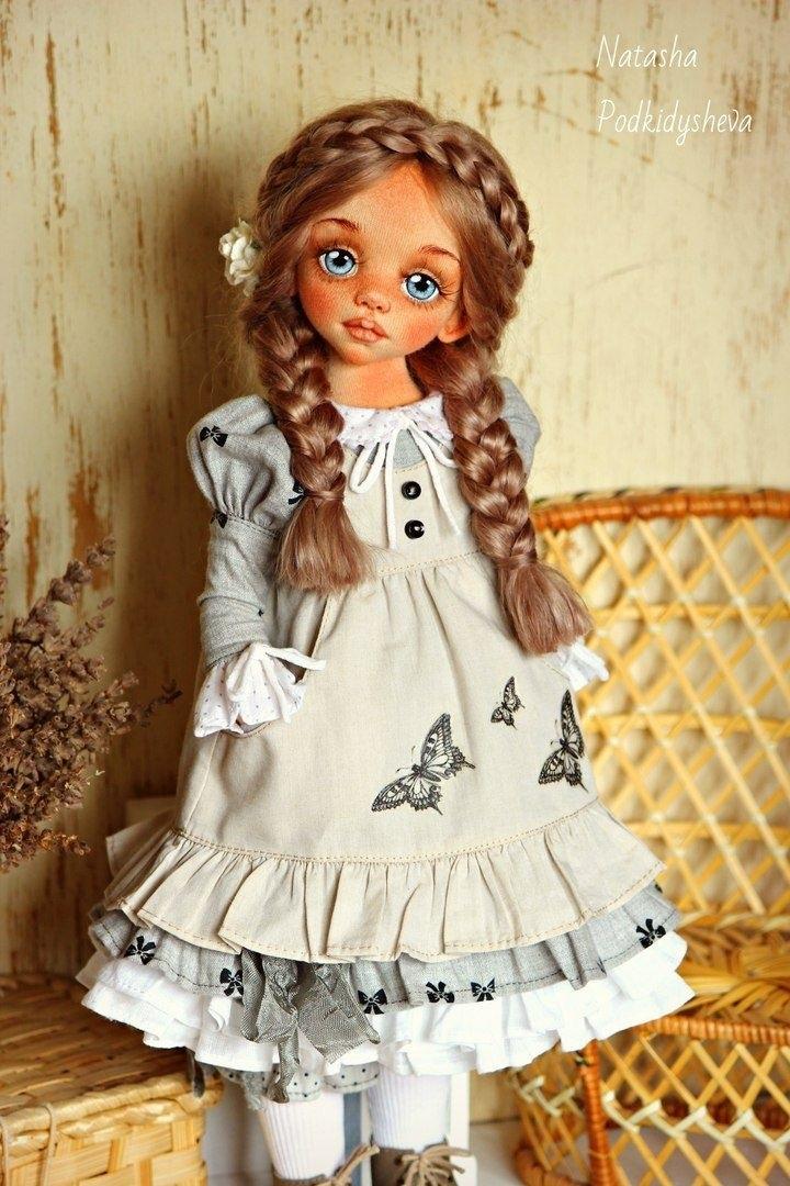фото авторские куклы из ткани ручной работы 017