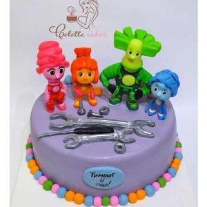 фото тортик с фиксиками 023