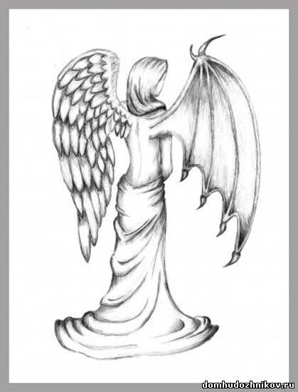христианские рисунки карандашом 004