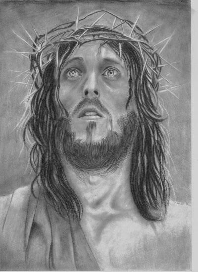 христианские рисунки карандашом 007