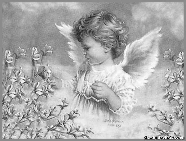 христианские рисунки карандашом 012