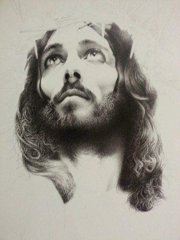 христианские рисунки карандашом 014