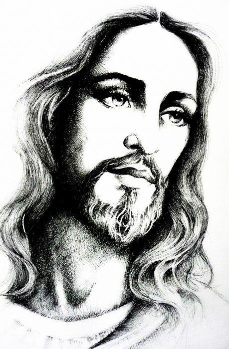 христианские рисунки карандашом 015