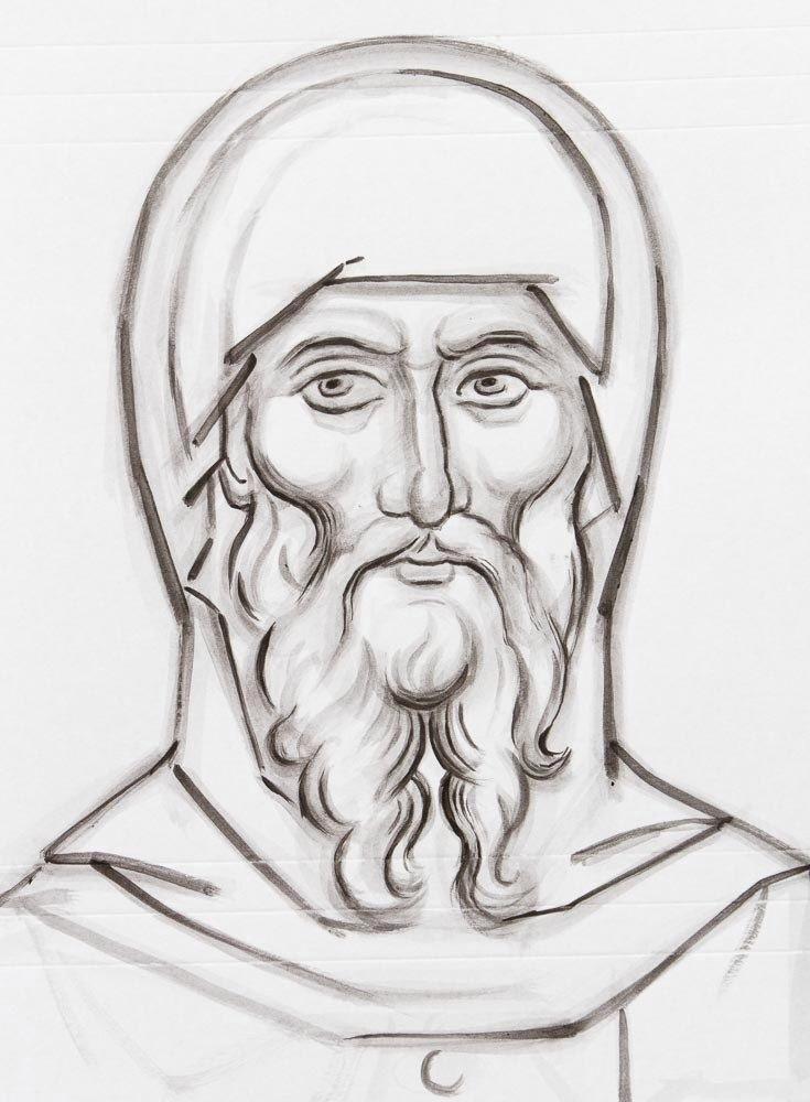 христианские рисунки карандашом 016
