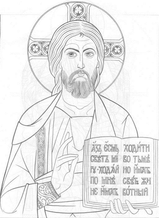 христианские рисунки карандашом 017