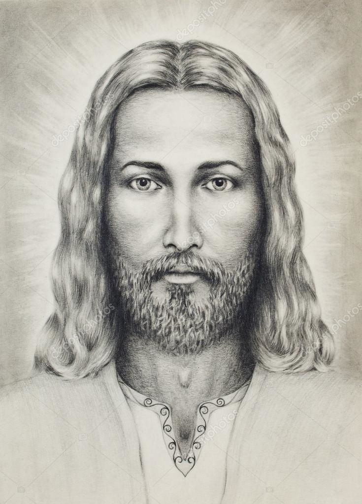 христианские рисунки карандашом 018