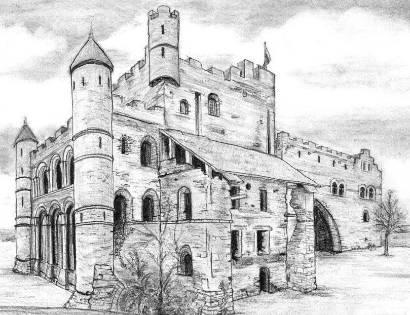 христианские рисунки карандашом 023