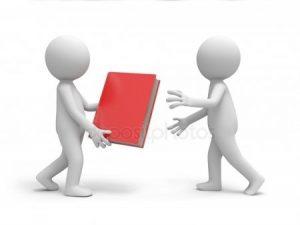 человечек с книгой для презентации 024