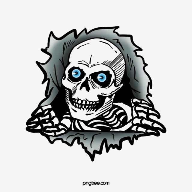 череп принт 011