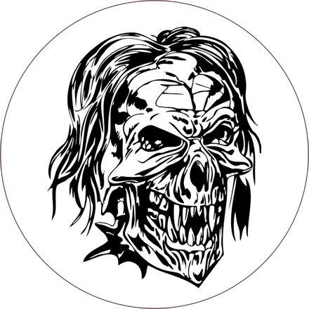 череп принт 015