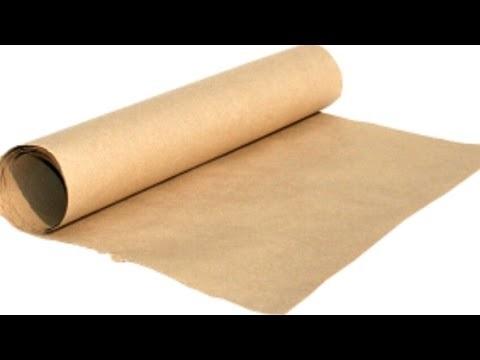что можно сделать из крафтовой бумаги 001