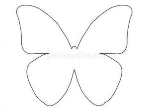 шаблоны бабочек для скрапбукинга 020