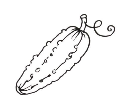 шаблоны овощи для детей 001