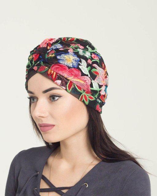 шапка в восточном стиле 016