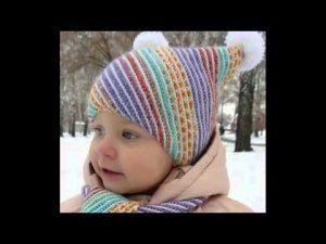 шапочки для детей 020