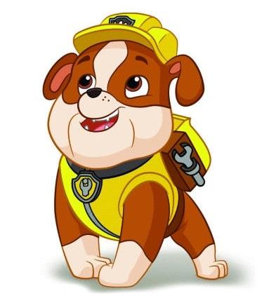 Крепыш щенячий патруль картинка нарисованная