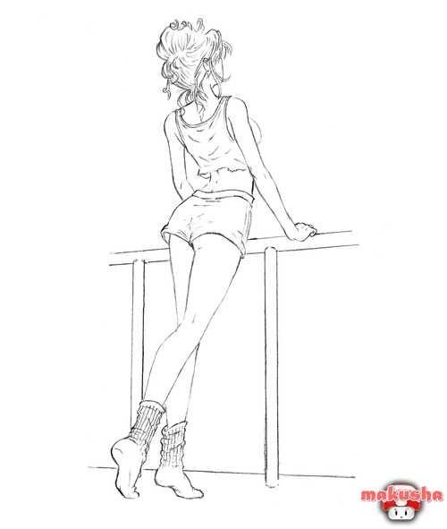 эскизы для рисования 015