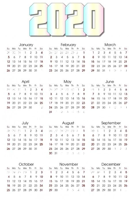 эскизы календарей 007