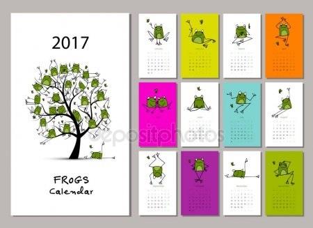 эскизы календарей 019