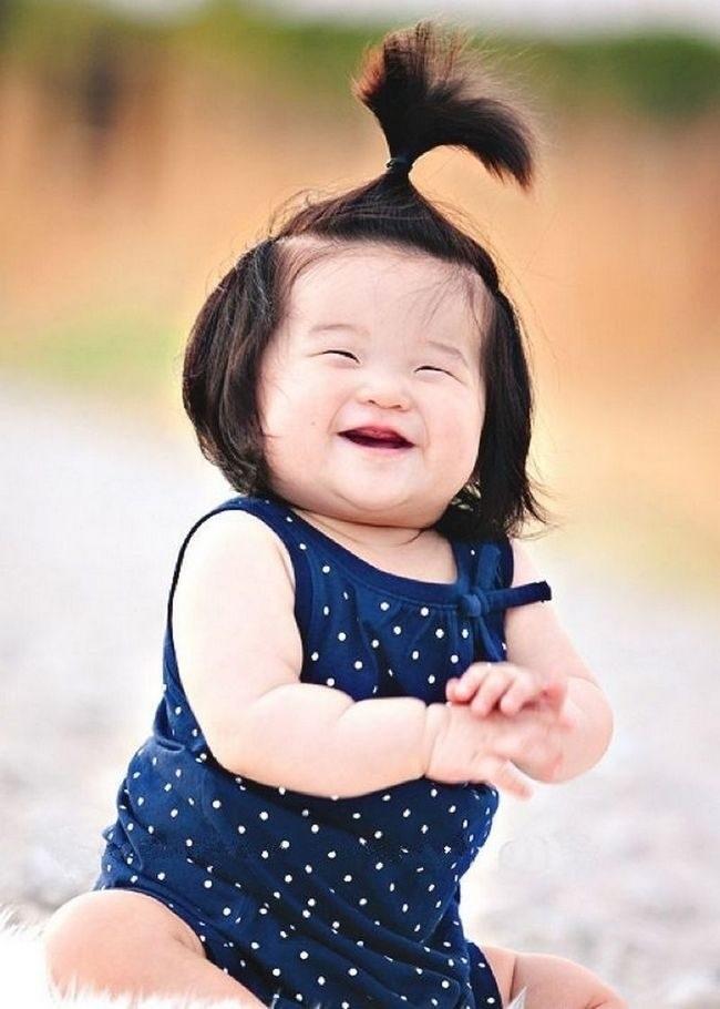 эскиз детской улыбки 012