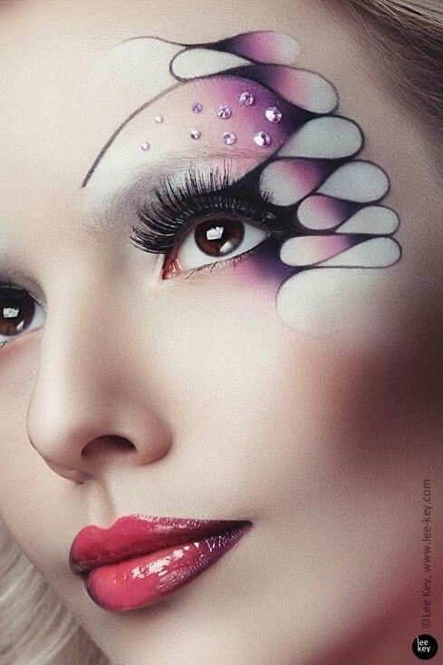 эскиз макияжа 004