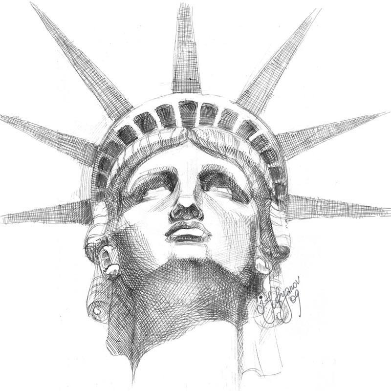 эскиз статуи 004