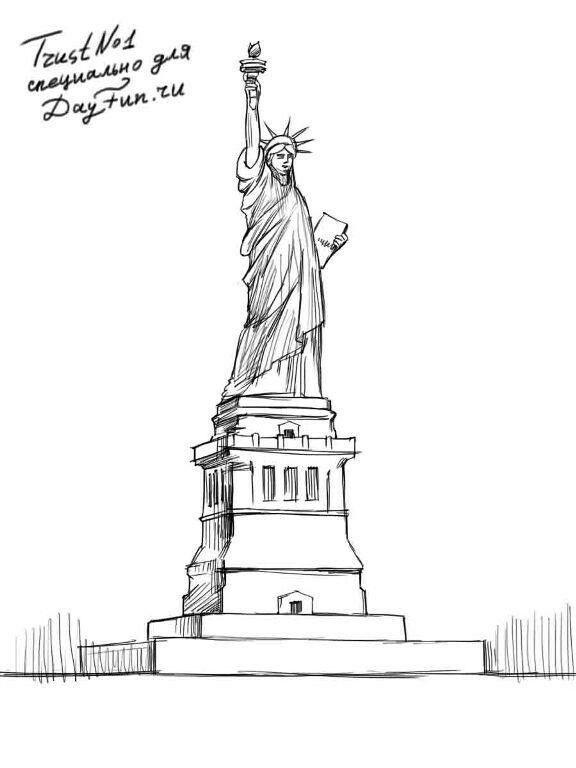 эскиз статуи 018