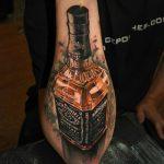 Эскиз тату бутылка — прикольные фото