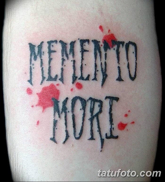 эскиз тату memento mori 002
