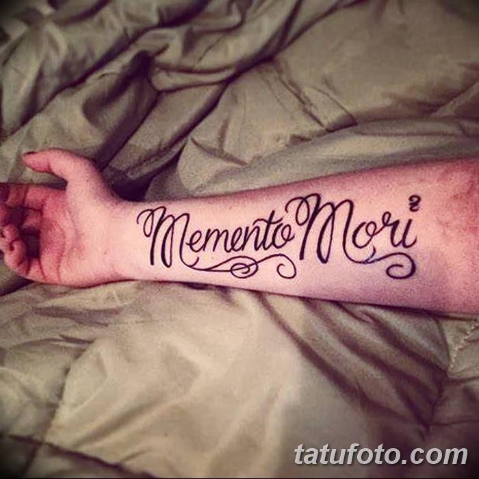 эскиз тату memento mori 005