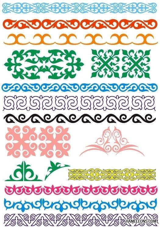 якутский орнамент в векторе 001