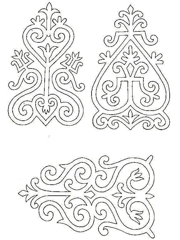 якутский орнамент в векторе 005