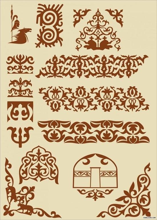 якутский орнамент в векторе 006