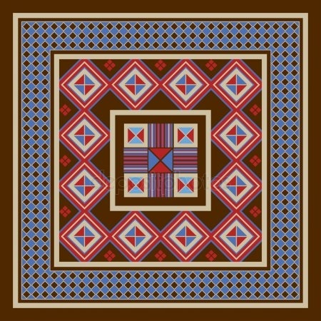 якутский орнамент в векторе 010