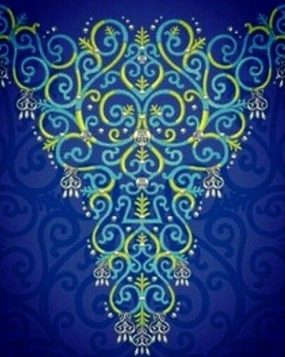 якутский орнамент в векторе 016