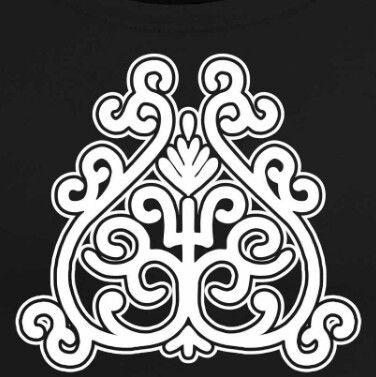 якутский орнамент в векторе 022