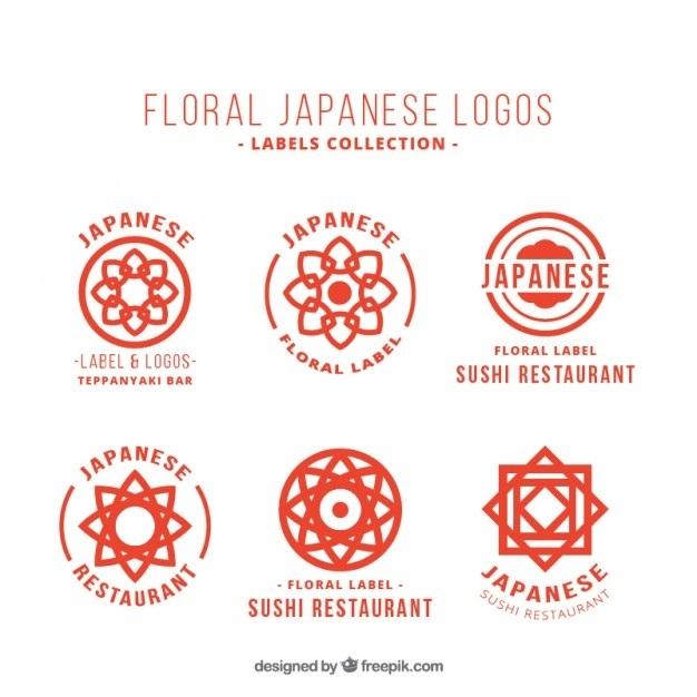 японский логотип 003