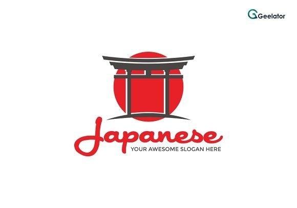 японский логотип 018