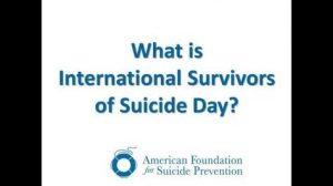 International Survivors of Suicide Day 015