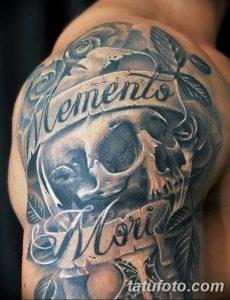 memento mori эскиз тату 022