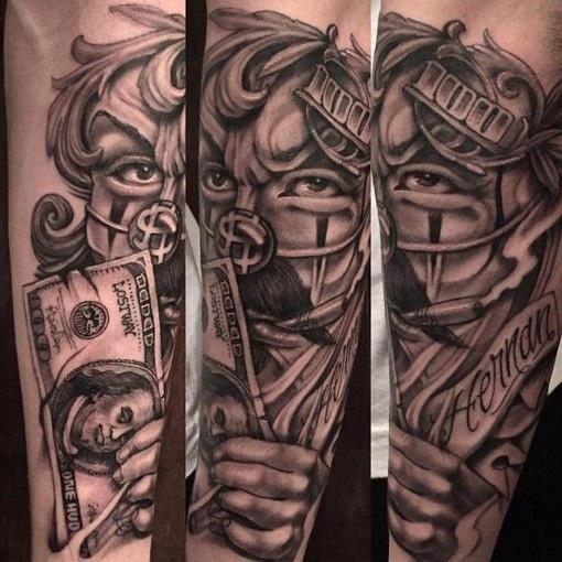 tattoo gangster 011
